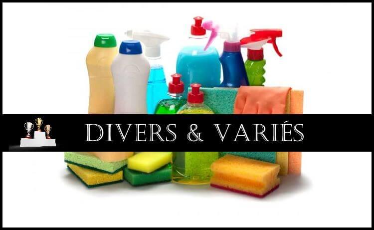 Comparatif : Divers & Variés