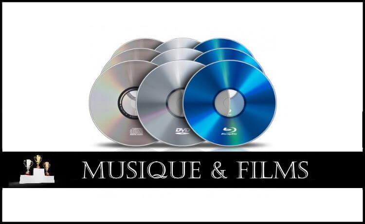 Comparatif : Musique & Films