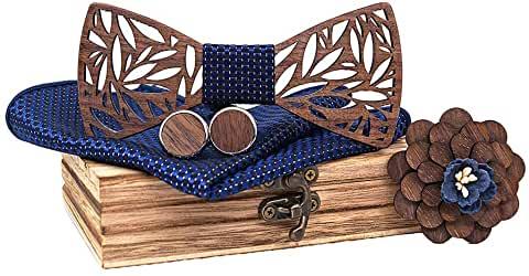 Meilleur noeud papillon en bois